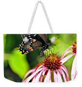 Amazing Butterfly Weekender Tote Bag by Marty Koch