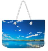 Amazing Clear Lake Under Blue Sunny Sky Weekender Tote Bag