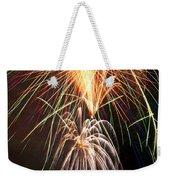 Amazing Fireworks Weekender Tote Bag