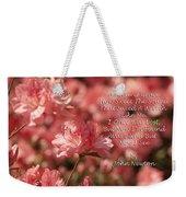 Amazing Grace Azaleas  Weekender Tote Bag