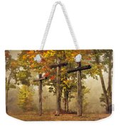 Amazing Grace Weekender Tote Bag by Debra and Dave Vanderlaan