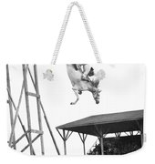 Amazing Horse Stunt Dive Weekender Tote Bag