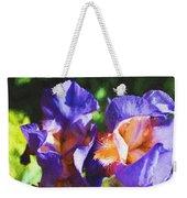 Amazing Iris Weekender Tote Bag
