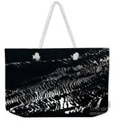 Amazing Rice Terrace In Black And White Weekender Tote Bag