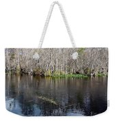 Reflections - On The - Silver River Weekender Tote Bag