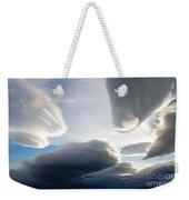 Amazing Skies Over Puerto Natales Chile Weekender Tote Bag