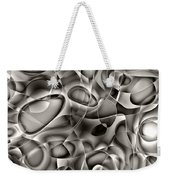 Amazing World Of Cells - Black And White Weekender Tote Bag