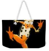 Amazon Harlequin Toad Weekender Tote Bag