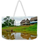 Amazon River Reflections-peru  Weekender Tote Bag