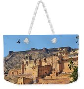 Amber Fort View - Jaipur India Weekender Tote Bag