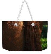 Amber Horse Tail Weekender Tote Bag