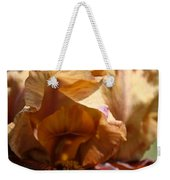 Amber Iris Waves Weekender Tote Bag