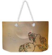 Amber Vision Weekender Tote Bag