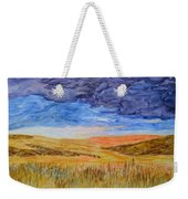 Amber Waves Of Grain Weekender Tote Bag