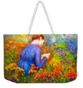 Ambrosia's Love Letter Weekender Tote Bag by Michael Durst