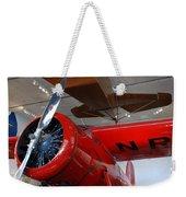 Amelia Earhart Prop Plane Weekender Tote Bag