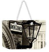 Amen Corner Weekender Tote Bag
