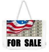America For Sale Weekender Tote Bag