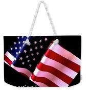 America Greeting Card Weekender Tote Bag