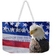 America Land Of The Free Weekender Tote Bag