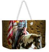 America -- Rodeo-style Weekender Tote Bag