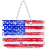 America The Beautiful Weekender Tote Bag by Robert ONeil