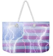America The Powerful Weekender Tote Bag by James BO  Insogna