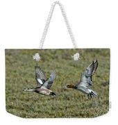 American & Eurasian Wigeons Weekender Tote Bag
