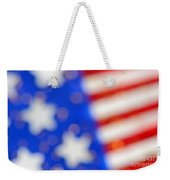 American Abstract Weekender Tote Bag
