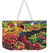 American Abstract Weekender Tote Bag