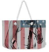 American Badass Weekender Tote Bag