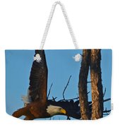 American Bald Eagle I Mlo Weekender Tote Bag