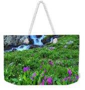 American  Basin Waterfall Weekender Tote Bag