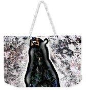 American Black Bear Weekender Tote Bag