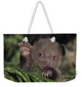 American Black Bear Cub Wildlife Rescue Weekender Tote Bag