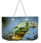 American Bull Frog Weekender Tote Bag
