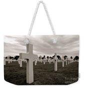 American Cemetery In Normandy  Weekender Tote Bag
