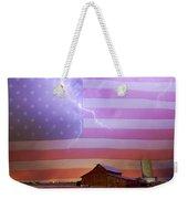American Country Storm Weekender Tote Bag