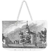 American Courthouse, 1844 Weekender Tote Bag