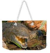 American Crocodile Weekender Tote Bag