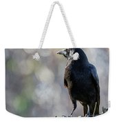 American Crow Square Weekender Tote Bag