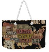 American Dream-route 66 Weekender Tote Bag