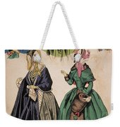 American Fashion Print Weekender Tote Bag