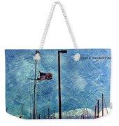 American Flag As A Painting Weekender Tote Bag