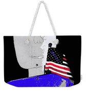 American Flag Collage Tucson Arizona Mid 1980's-2013 Weekender Tote Bag