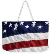 American Flag Weekender Tote Bag by Jill Lang