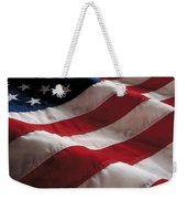 American Flag Weekender Tote Bag by Jon Neidert
