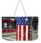 American Flag Tiles Weekender Tote Bag
