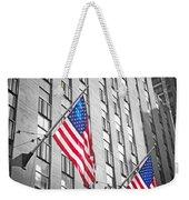 American Flags  Weekender Tote Bag