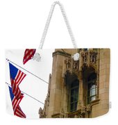 American Flags Weekender Tote Bag